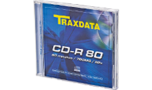 TRAXDATA CD-R 700MB/80 MIN. 52X Box 1 KOM