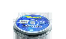 TRAXDATA CD-R 700MB/80 MIN. 52X Cake 10 KOM