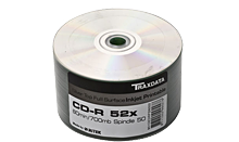 TRAXDATA CD-R 700MB/80 MIN 52X Spindle 50 KOM (Silver Printable)