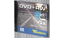 TRAXDATA DVD+RW 4.7GB/120 MIN 4X Box 1 KOM
