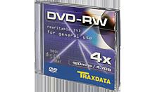 TRAXDATA DVD-RW 4,7GB/120 MIN 4X Box 1 KOM
