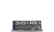 TRAXDATA DVD+RW 4.7GB/120 MIN 4X Cake 25 KOM