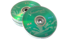 TRAXDATA DVD+R 16X 4,7GB Spindle 10 kom ValuePack