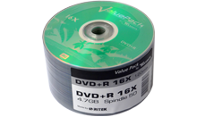 TRAXDATA DVD+R 16X 4,7GB Spindle 50 kom ValuePack