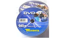 TRAXDATA DVD-R 16X 4,7GB Spindle 10 kom