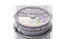 TRAXDATA DVD+R 4.7GB/120 MIN 16X Cake 25 KOM (White Printable)