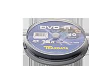 TRAXDATA DVD-R 4.7GB/120 MIN 16X Cake 10 KOM