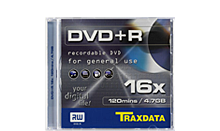 TRAXDATA DVD+R 4.7GB/120MIN 16X Box 1 KOM