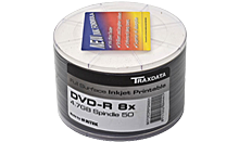 TRAXDATA DVD-R 4.7GB/120 MIN 8X Spindle 50 KOM (White Print.)
