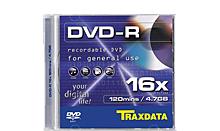 TRAXDATA DVD-R 4.7GB/120 MIN 16X Box 1 KOM