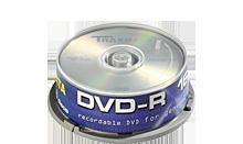 TRAXDATA DVD-R 4.7GB/120MIN 16X Cake 25 KOM