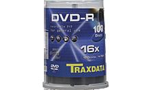 TRAXDATA DVD-R 4.7GB/120 MIN 16X Cake 100 KOM