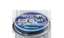 TRAXDATA DVD+R 4.7GB/120 MIN 16X Cake 10 KOM