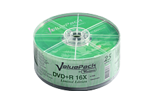TRAXDATA DVD+R 4.7GB/120 MIN 16X Spindle 25 KOM ValuePack