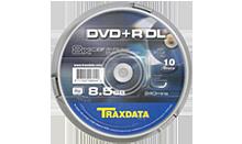 TRAXDATA DVD+R 8,5GB/240 MIN 8X Dual Layer Cake 10 KOM