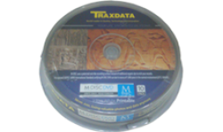 TRAXDATA M DISC DVD 4,7GB PRINTABLE CAKE 10